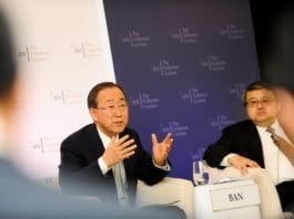 FNs generalsekretær Ban Ki-moon (Foto: IISS, flickr.com)
