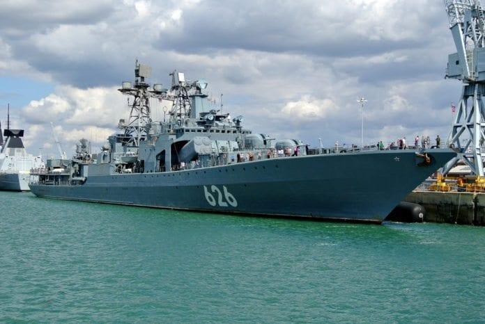 Russiske RFS Vice-Admiral Kulakov 626 (Illustrasjon: Paul Lewin, flickr.com)