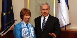 EUs utenriksminister Catherine Ashton og Israels statsminister Benjamin Netanyahu (Foto: European External Action Service, flickr.com)