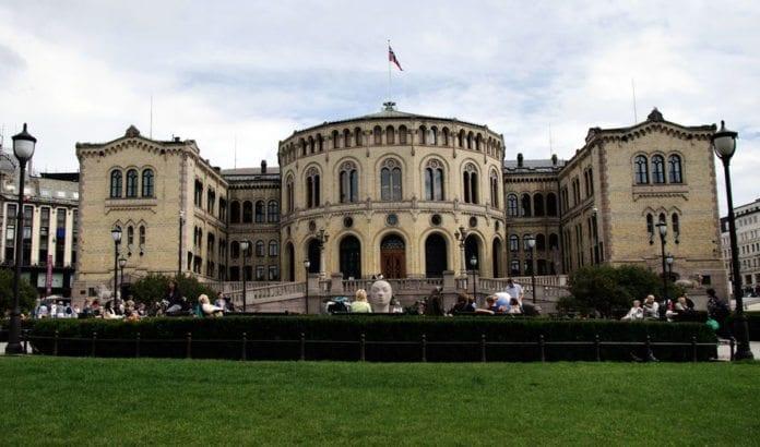 Stortinget. (Foto: Sjur Stølen / Aktiv i Oslo)