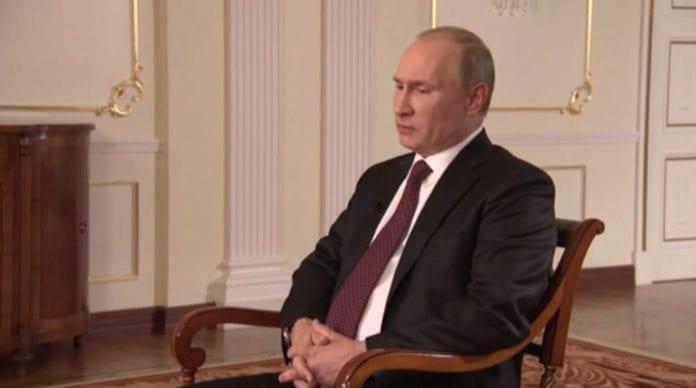 Russlands president Vladimir Putin (Foto: Skjermdump fra AssociatedPress, YouTube.com)