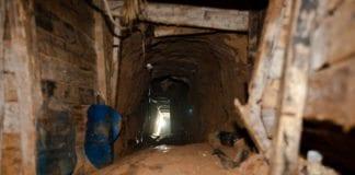 Smuglertunneler på Gaza-stripen, i nærheten av Rafah. (Illustrasjon: Marius Arnesen, flickr.com)