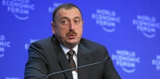 Aserbajdsjans president Ilham Aliyev knytter stadig tettere bånd med Israel. (Foto: World Economic Forum, flickr.com)