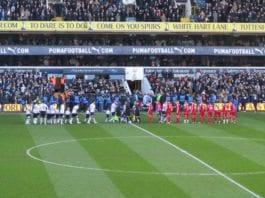 Bildet er fra Tottenhams kamp på White Hart Lane mot Charlton i 2011, som hjemmelaget vant 3-0. (Foto: