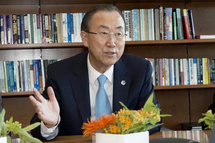 FNs generalsekretær Ban Ki-moon fordømmer det kjemiske angrepet i Damaskus. (Foto: UN Photo Geneva, flickr.com)