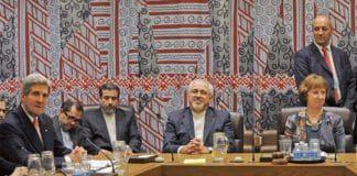 Forhandlingsmøtet med verdensmaktenes og Irans utenriksministere i New York 26. september 2013. (Foto: European External Action Service, flickr.com)