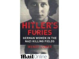 """Coveret til den nye boken """"Hitler's Furies"""" av professor Wendy Lower"""