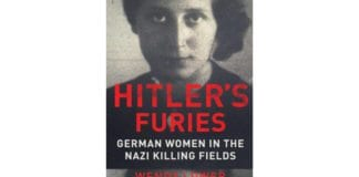 "Coveret til den nye boken ""Hitler's Furies"" av professor Wendy Lower"