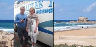 Hallgrim Berg (69) og Mette Follestad (45) er reiseledere på vårens MIFF-tur til Israel. Berg er sekretær i MIFF Hallingdal, og kjent som forfatter, foredragsholdere og tidligere stortingsrepresentant for Høyre. Follestad er medlem av MIFFs hovedstyre.