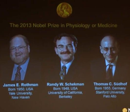 Foto: Skjermdump fra Nobel Prize, YouTube.com