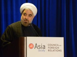 Irans president Hassan Rouhani (Foto: Asia Society, flickr.com)