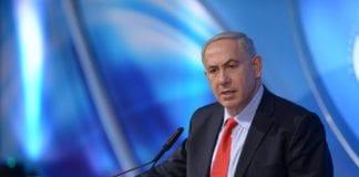 Statsminister Benjamin Netanyahu under søndagens tale ved Bar-Ilan-universitetet. (Foto: Amos Ben Gershom, Prime Minister of Israel, flickr.com)