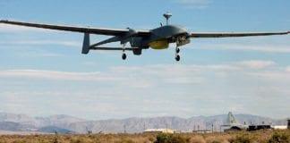 Det ubemannede droneflyet IAI Heron 1 (Illustrasjon: Wikimedia Commons)