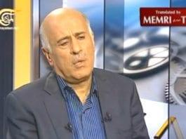 PAs tidligere sjef for sikkerhetsstyrkene, Jibril Rajoub. (Foto: Skjermdump fra MEMRITVVideos, YouTube.com)