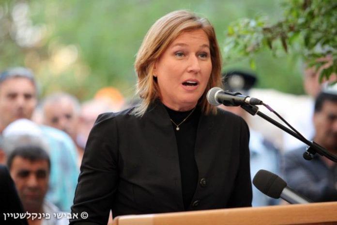 Justis- og diplomatiminister Tzipi Livni følte seg truet på livet av et innlegg på Facebook-siden hennes mandag. (Foto: Tzipi Livni - ציפי לבני, flickr.com)