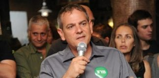 Meretz' Nitzan Horowitz er en av de to mest populære kandidatene i Tel Avivs ordførervalg. (Foto: Nitzan Horowitz - ניצן הורוביץ, Facebook.com)