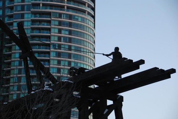 Kinesisk jernbanearbeider. (Illustrasjonsfoto: Benny Lin, flickr.com)