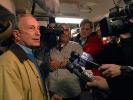 New Yorks jødiske ordfører Michael Bloomberg. (Foto: Rachael L. Leslie, U.S. Department of Defence, flickr.com)