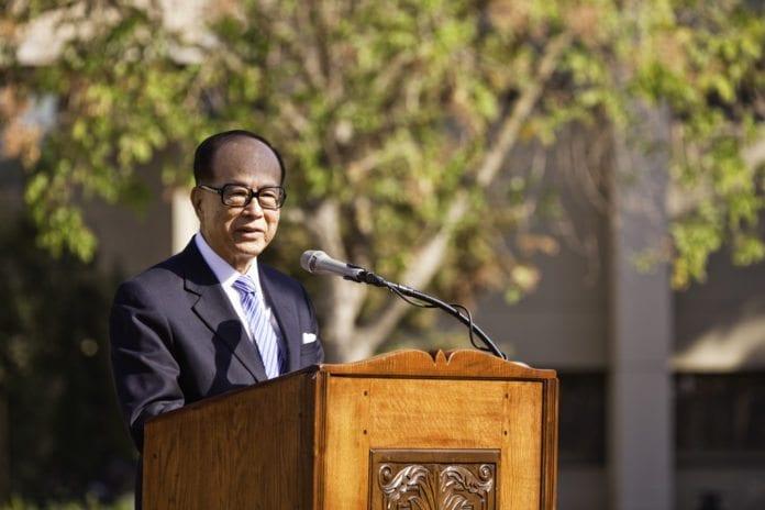 Asias rikeste mann Li Ka-Shing (Foto: Stanford EdTech, flickr.com)