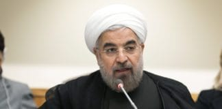 Irans president Hassan Rouhani deltok 27. september 2013 på et ministermøte i FN om ikke-spredning av atomvåpen. (Foto: Rick Bajornas, UN Photo)