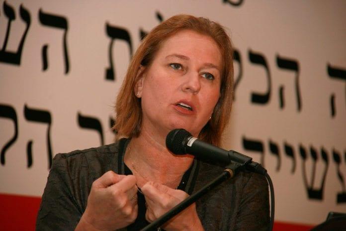 Justis- og diplomatiminister Tzipi Livni (Foto: Tzipi Livni, flickr.com)