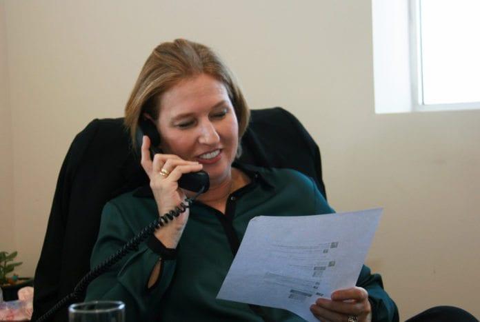 Israels justis- og diplomatiminister Tzipi Livni (Foto: Tzipi Livni, flickr.com)