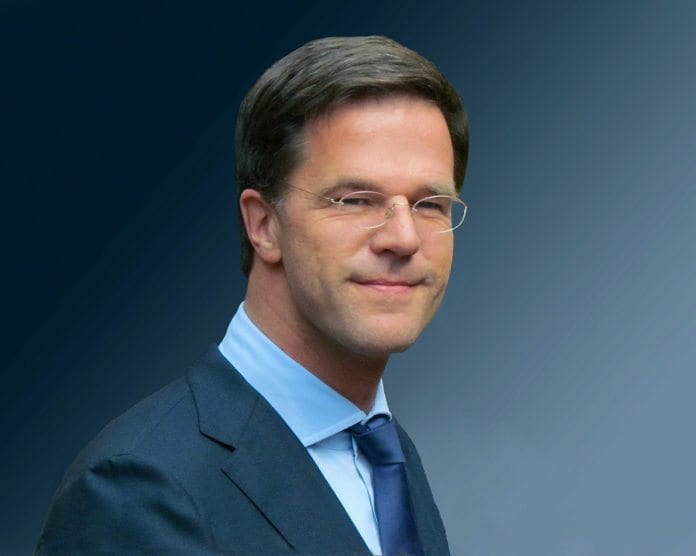 Nederlands statsminister Mark Rutte (Foto: Roel Wijnants, flickr.com)