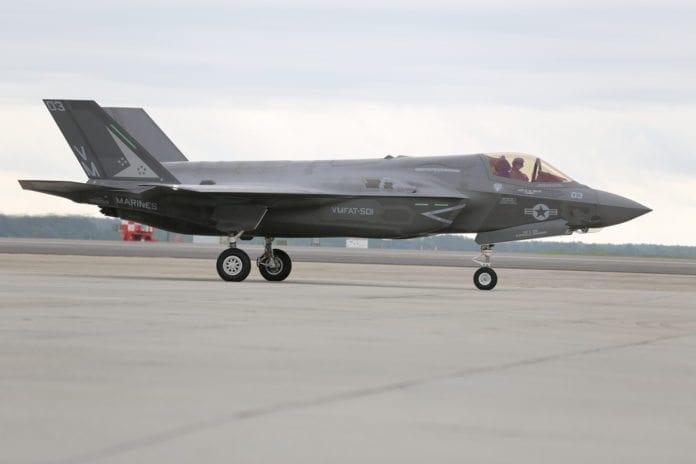 Lockheed Martins jagerfly F-35 (Foto: CherryPoint, flickr.com)
