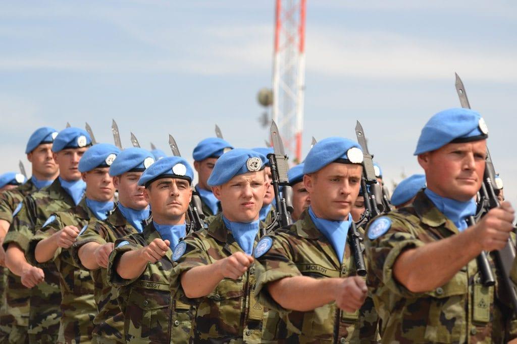 Irske UNIFIL-soldater (Illustrasjon: Irish Defence Forces, flickr.com)