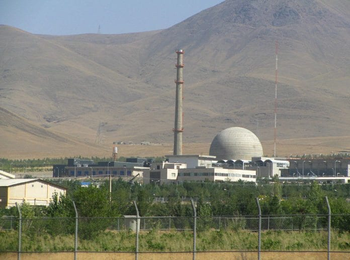 Den iranske tungtvannsreaktoren IR-40 i Arak (Foto: Wikimedia Commons)