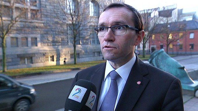 Espen Barth Eide var krystallklar om Israels rett til selvforsvar i november 2012. (Skjermdump fra TV2)