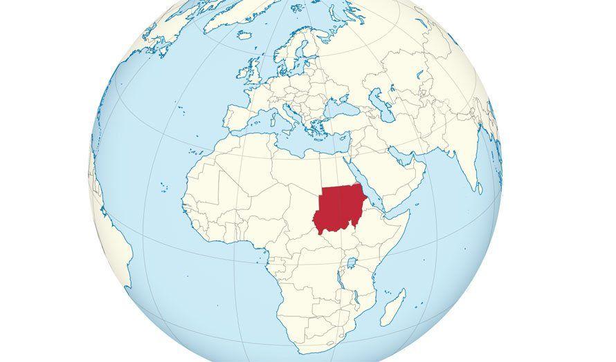kart sudan Neste revolusjon i Sudan?   MIFF kart sudan