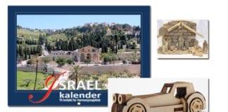 Populære julegaver på torget.miff.no - Israelkalenderen til Hermonprosjektet, julekrybber og 3D-puslespill fra Tabita.
