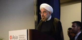 President Hassan Rouhani og Iran er den største trusselen for Israel, konkluderer Mossad i sin årlige rapport om Israels geostrategiske status i Midtøsten. (Illustrasjon: Kenji Takigami, Asia Society, flickr.com)