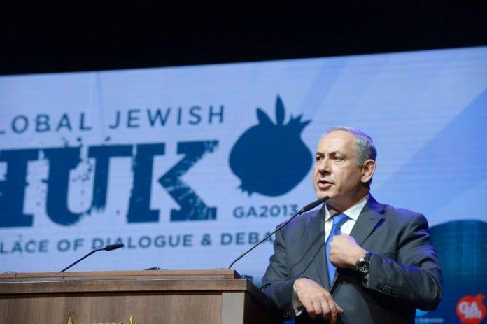 Israels statsminister Benjamin Netanyahu har stanset byggeplaner for 20.000-24.000 nye boliger på Vestbredden. (Foto: Amos Ben Gershom, Prime Minister of Israel, flickr.com)