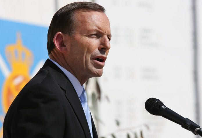 Australias tidligere statsminister, Tony Abbott, vil flytte ambassaden til Jerusalem. (Foto: US Embassy Kabul Afghanistan, flickr.com)