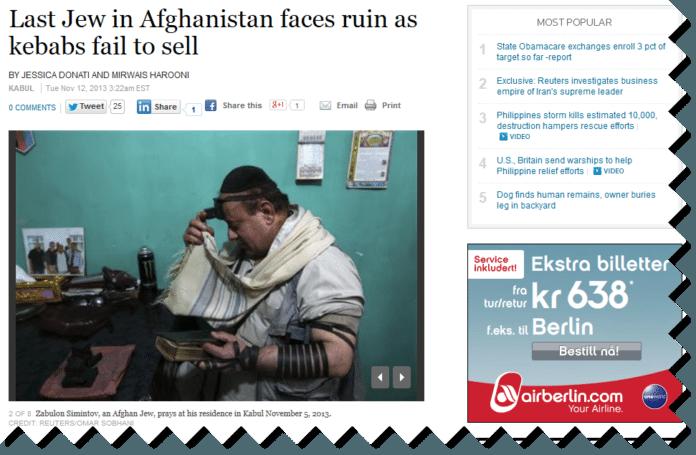 Foto: Skjermdump fra Reuters.com