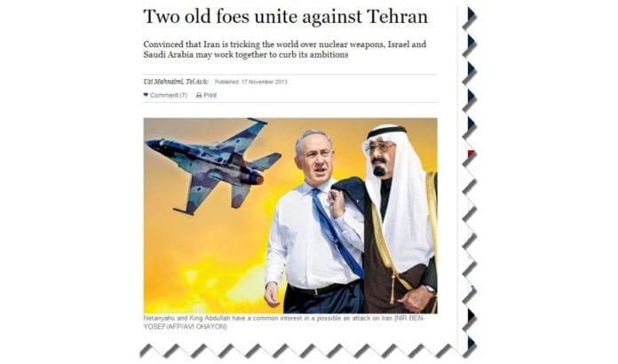 Skjermdump fra Sunday Times 17. november 2013.