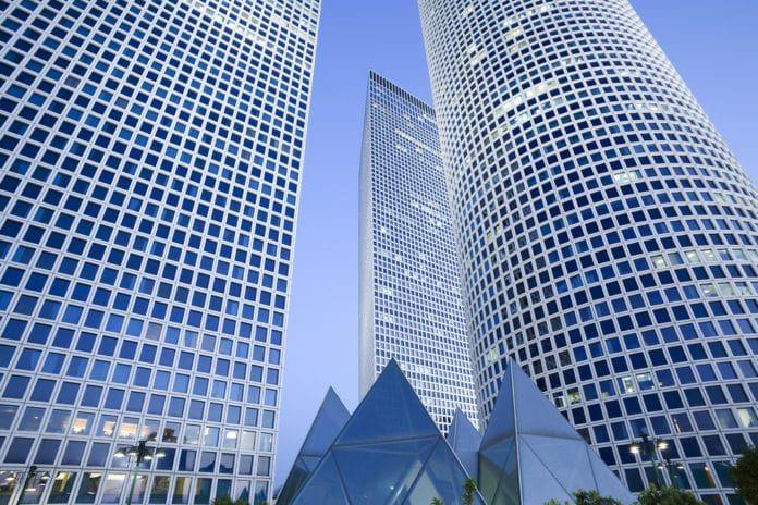 Skyskrapere i Tel Aviv. (Illustrasjon: Sofaer iMBA Program at Tel Aviv University, flickr.com)