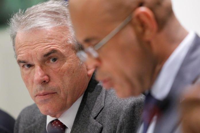 Nestleder i EU-parlamentets utenrikskomité Fiorello Provera er sterkt kritiske til EU-kolleger som feirer frigjøringen av palestinske fanger sammen med PA. (Foto: European Union)
