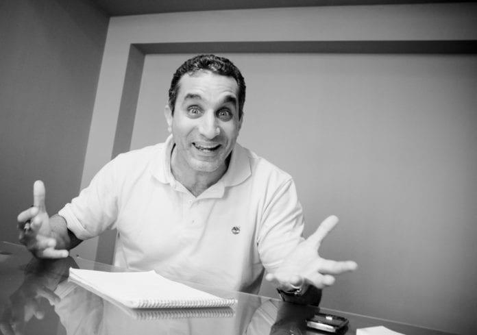 Satirikeren Bassem Youssef kalles ofte