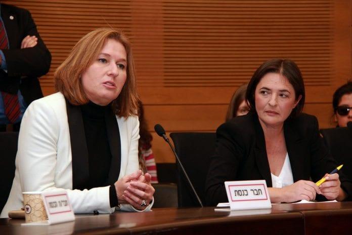 Justis- og diplomatiminister Tzipi Livni (t.v.) tror at fred med palestinerne kan skape en felles front i Midtøsten mot Iran. (Foto: Tzipi Livni, flickr.com)