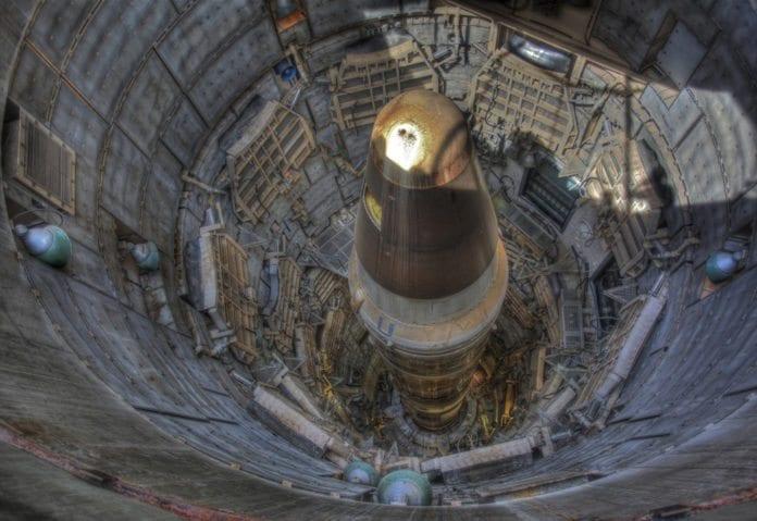 Siloen til en underjordisk amerikansk atomrakett (Illustrasjon: Steve Jurvetson, flickr.com)