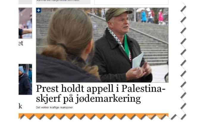 Odd Kristian Reme har vært Palestina-aktivist i en mannsalder. Han er tidligere varaordfører i Stavanger kommune for Arbeiderpartiet. (Skjermdump fra Stavanger Aftenblad)