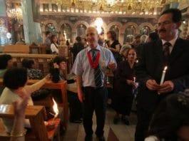 Samir Qumsieh (midten). (Foto: Bethlehem TV, Facebook)