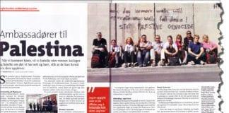 Faksmile av Fagbladets utgave som kom til medlemmene i begynnelsen av desember 2013.