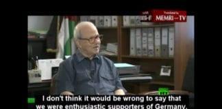 Farouk Kaddoumi, tidligere leder av PLOs politiske byrå. (Skjermdump fra Russia Today TV, via Memri/YouTube)