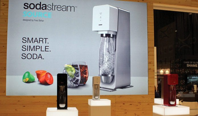 SodaStream-maskiner på en messe. (Illustrasjonsfoto: Inhabitat Blog, flickr.com)