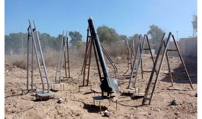 Rakettavfyringsbase i Gaza. Foto: IDF/Flickr.