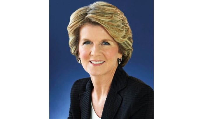Australias utenriksminister Julie Bishop. (Foto: Department of Foreign Affairs and Trade)